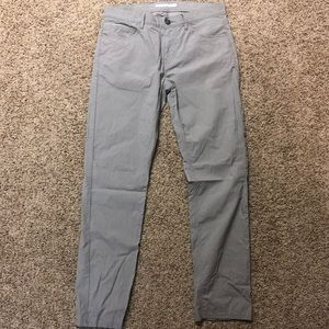 Men's Perry Ellis Portfolio Gray Slacks 30x32